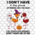 I don't have a big group of friends,halloween flamingo, halloween gift,