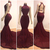 Sexy Amazing Lace and Elastic Satin Prom Dresses Criss Cross Straps Backless