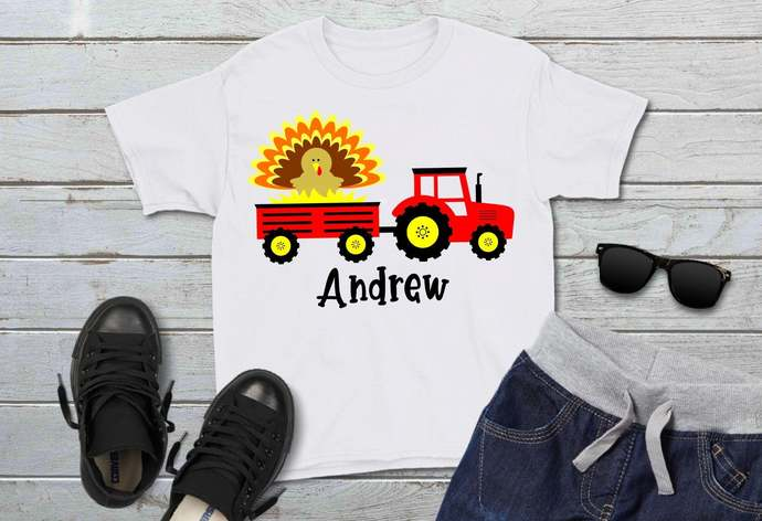 Tractor svg, Turkey Clip Art, Thanksgiving, svg, dxf, png, Cut Files