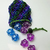 chainmaille dice pouch, chainmail dicebag, dice bag, coin pouch