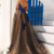 A Line Sweetheart Prom Dresses Tulle With Applique Sweep Train,722