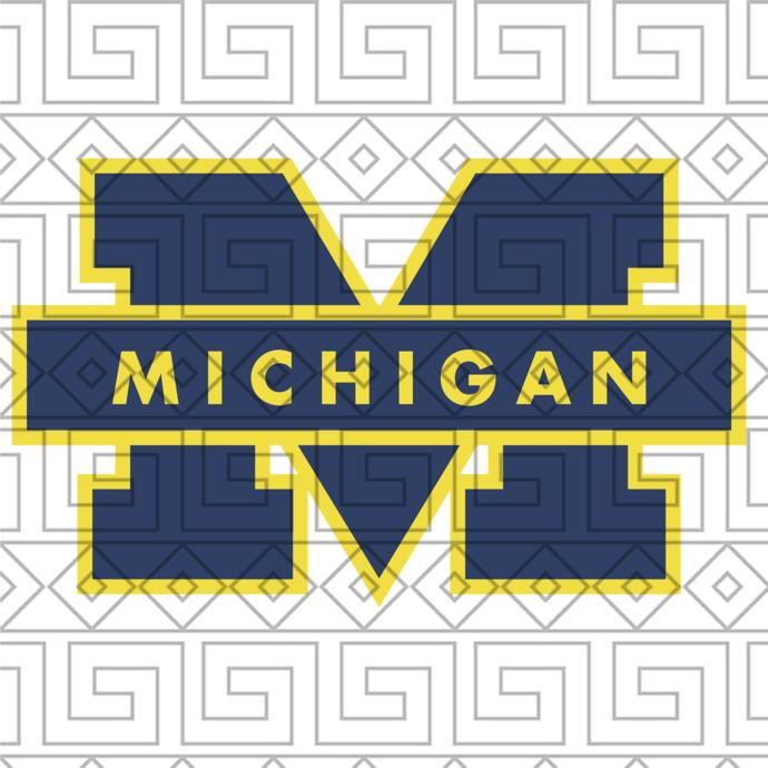 Michigan Wolverines Svg,football svg,football gift, Michigan Wolverines,Michigan