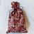 Fabric Gift Bags, set of 6 gift bags, Pumpkins and turkeys, pumpkins, turkeys,