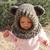 Hooded Cowl Crochet Pattern Bear Cat Fox Wolf Crochet Cowl with Ears Crochet