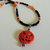 Jack o'Lantern Halloween Choker, Pumpkin Necklace, Boho Jewelry