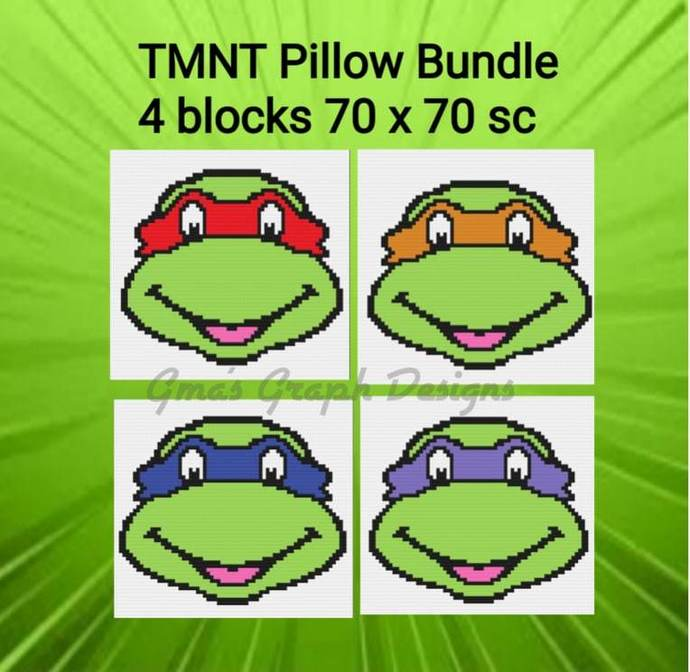 TMNT Pillow Bundle