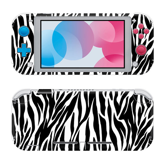 Zebra Abstraction Nintendo switch lite Skin