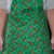 Reindeer reversible apron, full apron, apron for women, pull over apron, holiday