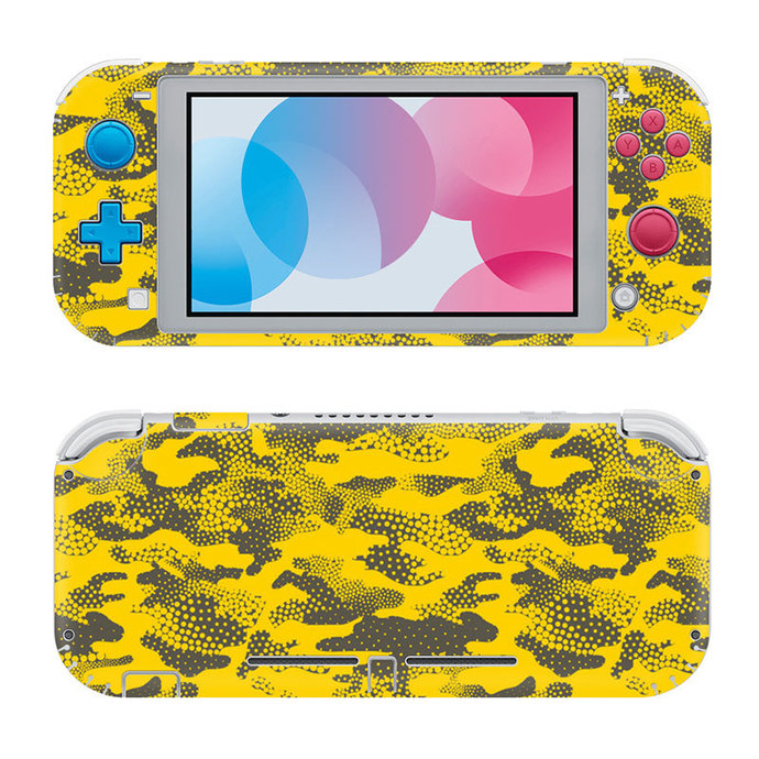 Abstraction Nintendo switch lite Skin