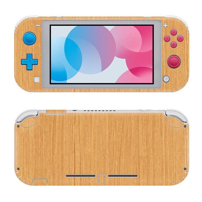 Wooden Board Nintendo switch lite Skin