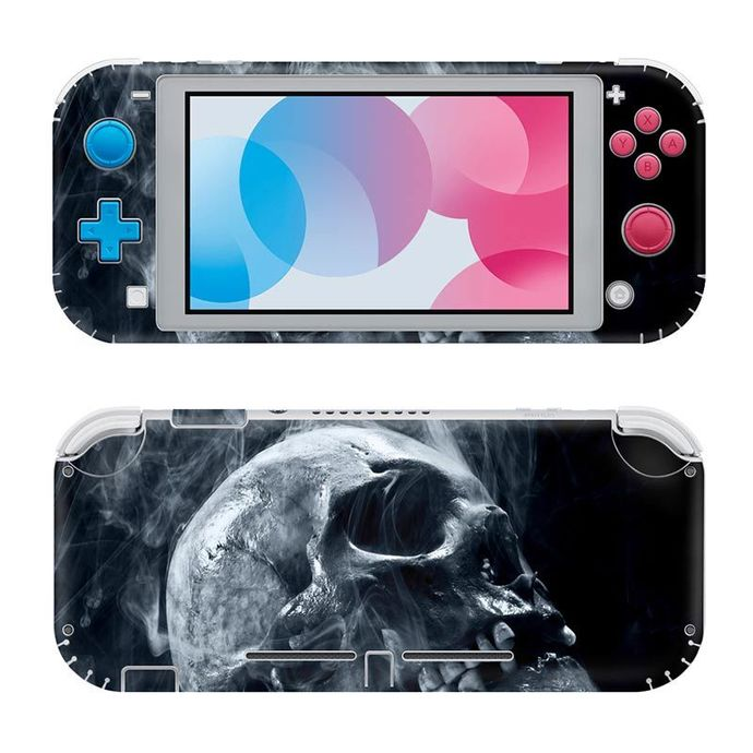 Smoky Skull Nintendo switch lite Skin
