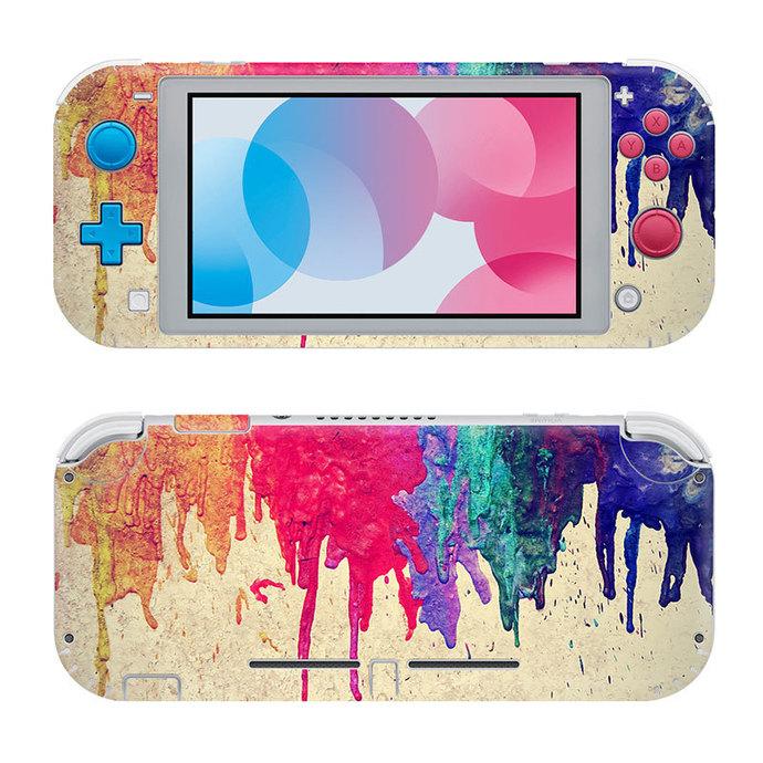 Colorful Nintendo switch lite Skin