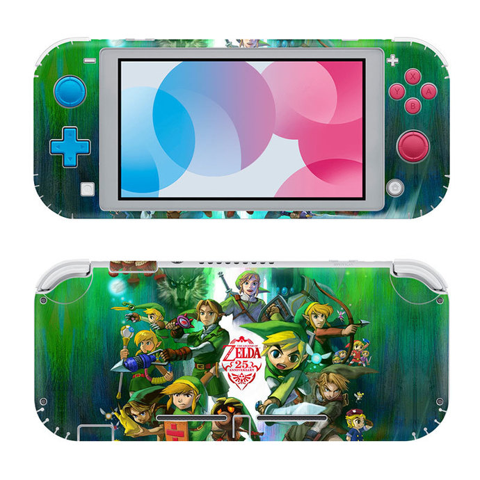 The legend of Zelda Nintendo switch lite Skin