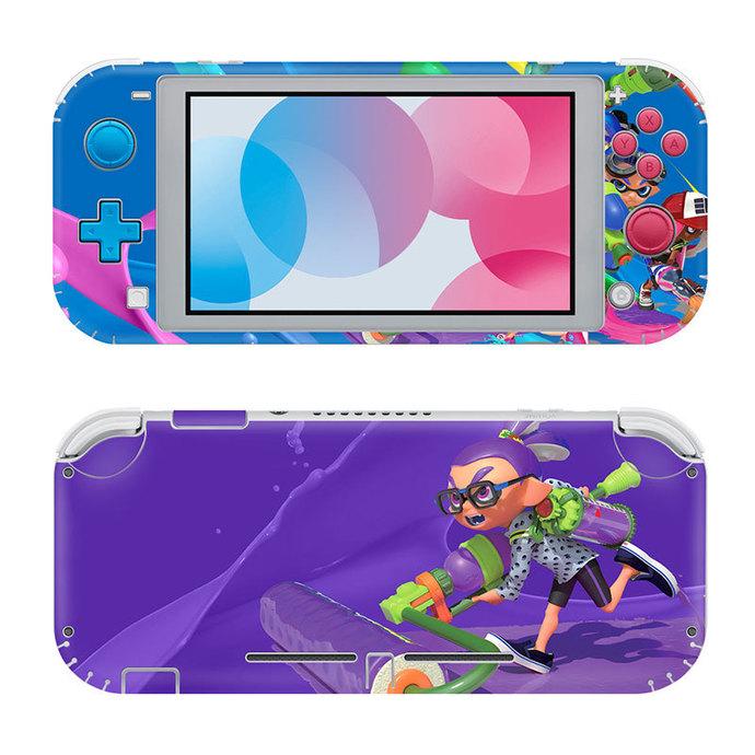 Splatoon Nintendo switch lite Skin
