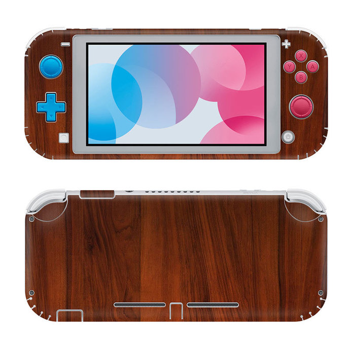 Wooden Board Nintendo switch lite Skin