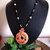 Cherokee Language Tsalagi Cedar Pendant Necklace, Corn Bead Jewelry, Handcrafted