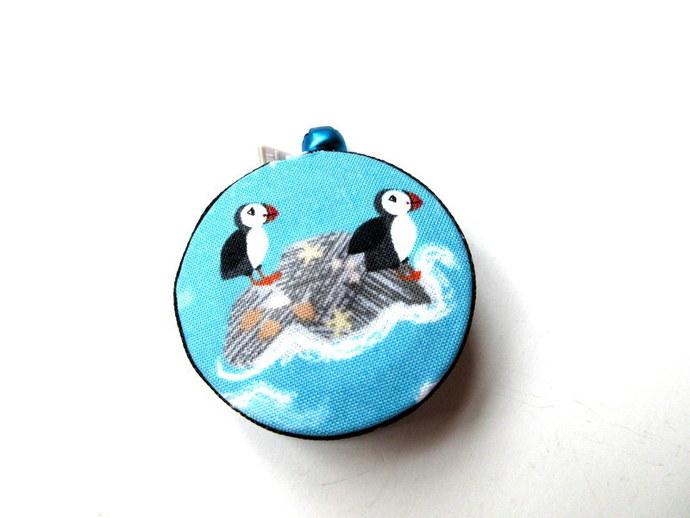 Retractable Tape Measure Puffin Birds Pocket Measuring Tape