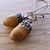 Little Jasper Acorn Earrings