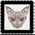 Skull 13b-Digital Kit-Jewelry Tag-Clipart-Gift Tag-Holiday-Digital