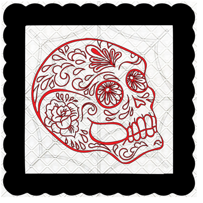 Skull 19b-Digital Kit-Jewelry Tag-Clipart-Gift Tag-Holiday-Digital