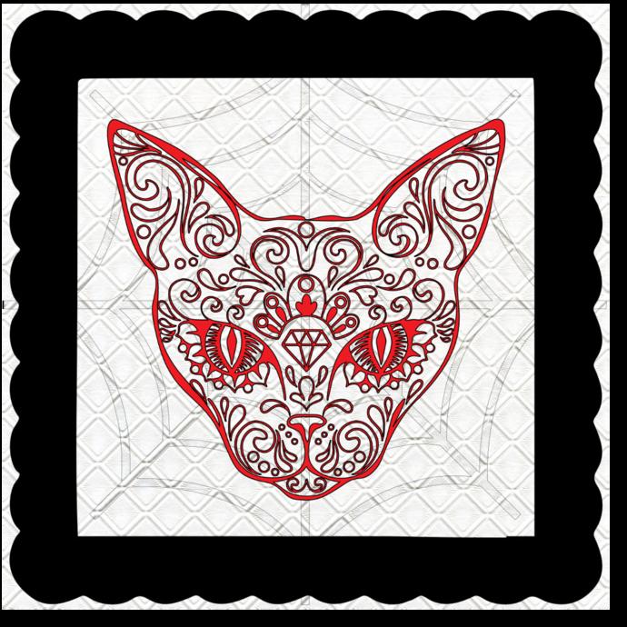 Skull 22b-Digital Kit-Jewelry Tag-Clipart-Gift Tag-Holiday-Digital