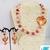 Carnelian, Rose Quartz Love Necklace Set