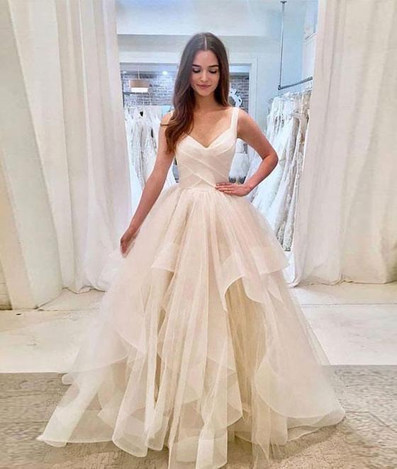 Wedding Dresses Long,Wedding Dresses Sleeveless,Wedding Dresses Tulle,Wedding