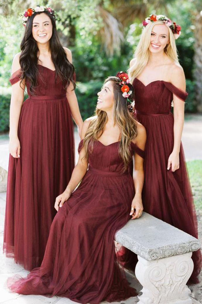 Bridesmaid Dresses Long,Bridesmaid Dresses Tulle,Bridesmaid Dresses