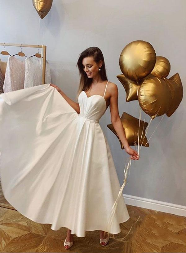 Cheap Prom Party Gowns ,Women Gowns ,White Gowns