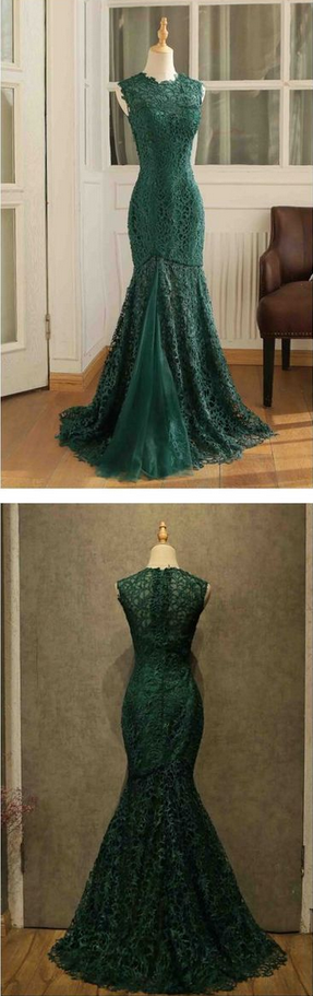 Long Sleeves Lace Evening Party Dress,off Shoulder Prom Dress