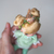 Sarsarblanki Custom Doll Little Greenie - OOAK handmade custom doll TOMY Disney