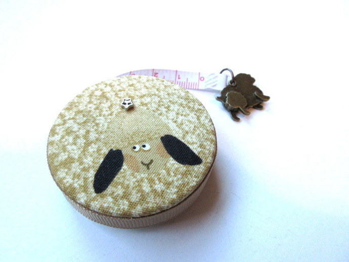 Measuring Tape Gold Sheep Small Retractable Tape Measure