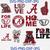 Alabama Crimson Tide, Alabama Crimson Tide svg, Alabama Crimson Tide clipart,