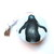 Small Tape Measure Swimming Penguins Retractable Measuring Tape
