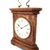 Vintage Solid Wood Decorative Chiming Mantel Clock with Handle-12 inches
