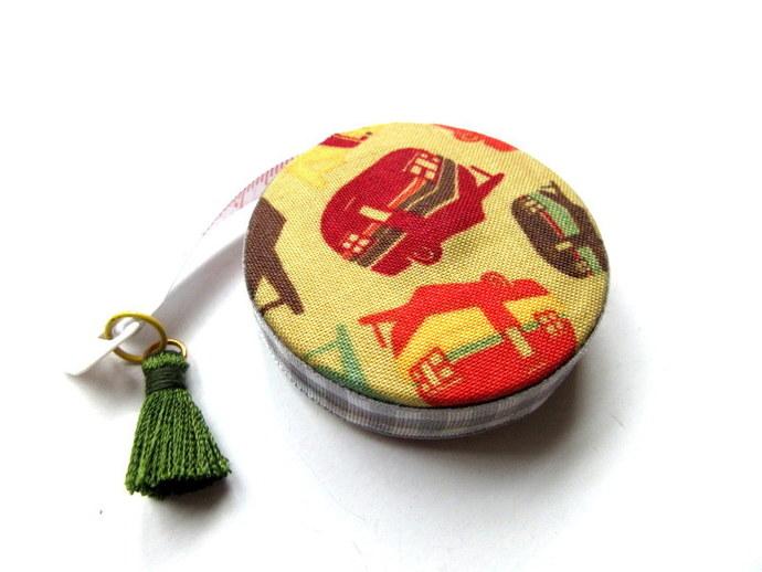 Measuring Tape Retro Campers Small Retractable Tape Measure