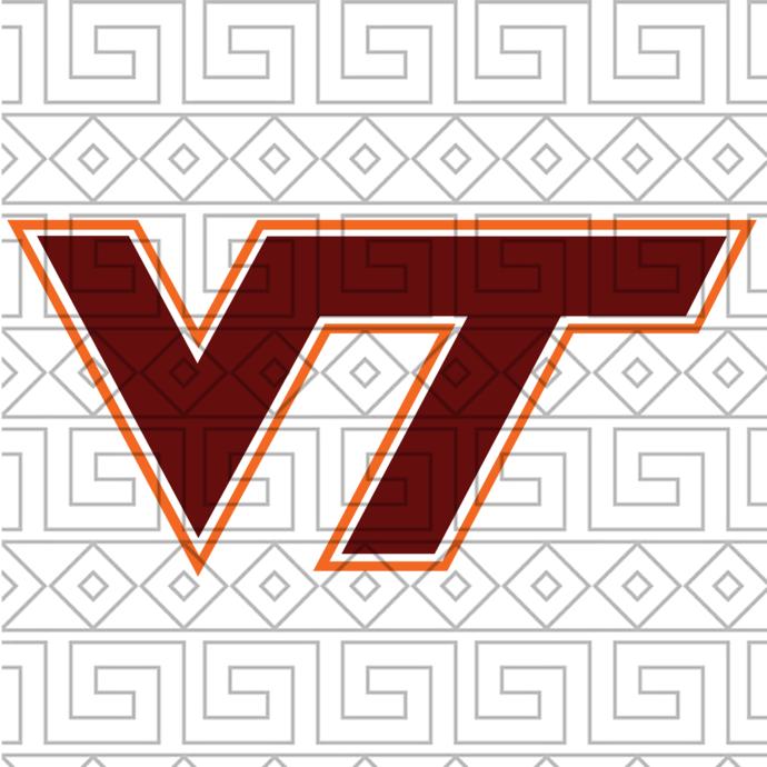Virginia Tech Hokies Svg,football svg,football gift, Virginia Tech Hokies,