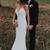 Mermaid Satin Wedding Dress, Spagetti Straps Wedding Dresses, Backless Long
