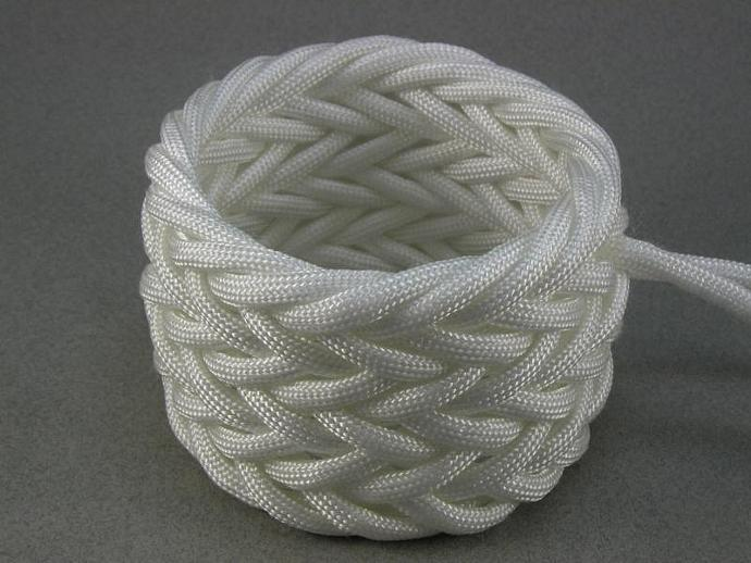 wide triple weave paracord rope bracelet herringbone pattern adjustable bracelet