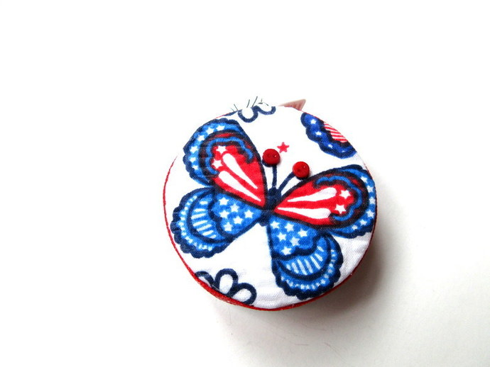 Measuring Tape Stars and Stripes Butterflies Retractable Small Tape Measure