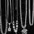 Retro Rhinestone Necklaces - WHOLESALE Priced