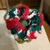 Crochet Holiday colored hair ties