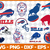 Buffalo SVG and Studio 3 Cut File Decal Files Logo for Silhouette U Cricut SVGS