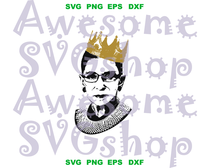 Notorious RBG svg I dissent Law Students Lawyers Judges Vintage style design