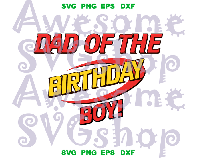 Nerf svg file Dad of the Birthday boy SVG Shirt Gift Invitation Birthday clipart