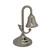 Vintage Nautical Tabletop brass bell Nickel Finish