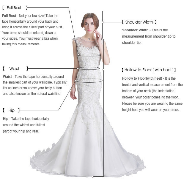 A-Line V-neck Floor-Length Light Champagne Prom Dress with Beading