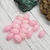 Pink Mountain Jade, tumbled rectangular Gemstone Beads, roughly 17x12mm, 10