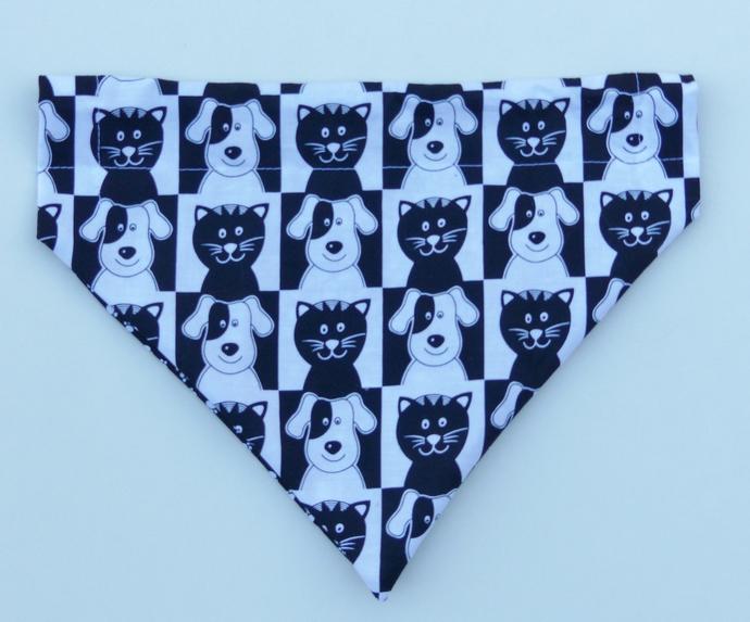 Dog bandana, Dog fashion, Size large, Dog and Cat bandana, Gift for dog, Gift