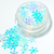 Flurries - Chunky, White Iridescent Loose Cosmetic & Craft Glitter Mix